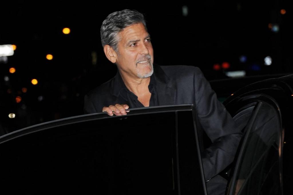 George Clooney a Late Show parla di Amal Alamuddin8