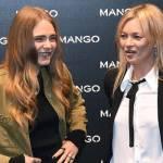 Kate Moss e Cara Delevingne da Mango a Milano FOTO 3