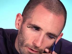 Uomini alle prese con l'Eyeliner, VIDEO esperimento