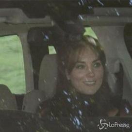 Kate Middleton ricompare...ma il volto è stanco e segnato