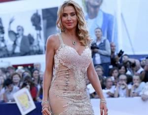 Red carpet Bellocchio: Valeria Marini in nude look, Nancy Brilli
