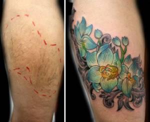 Brasile, tatuaggi gratis su donne vittime di violenza domestica7