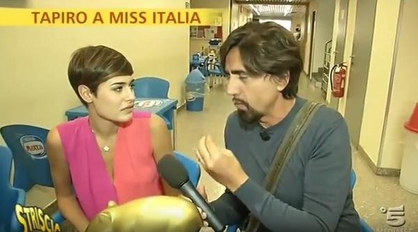 Alice Sabatini miss Italia, altra gaffe: Mio personaggio storico è...