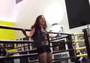 Gheeda Chamasaddine, prima wrestler musulmana VIDEO