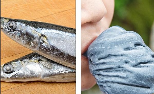 Gelato al gusto di...pesce. Voi lo mangereste?
