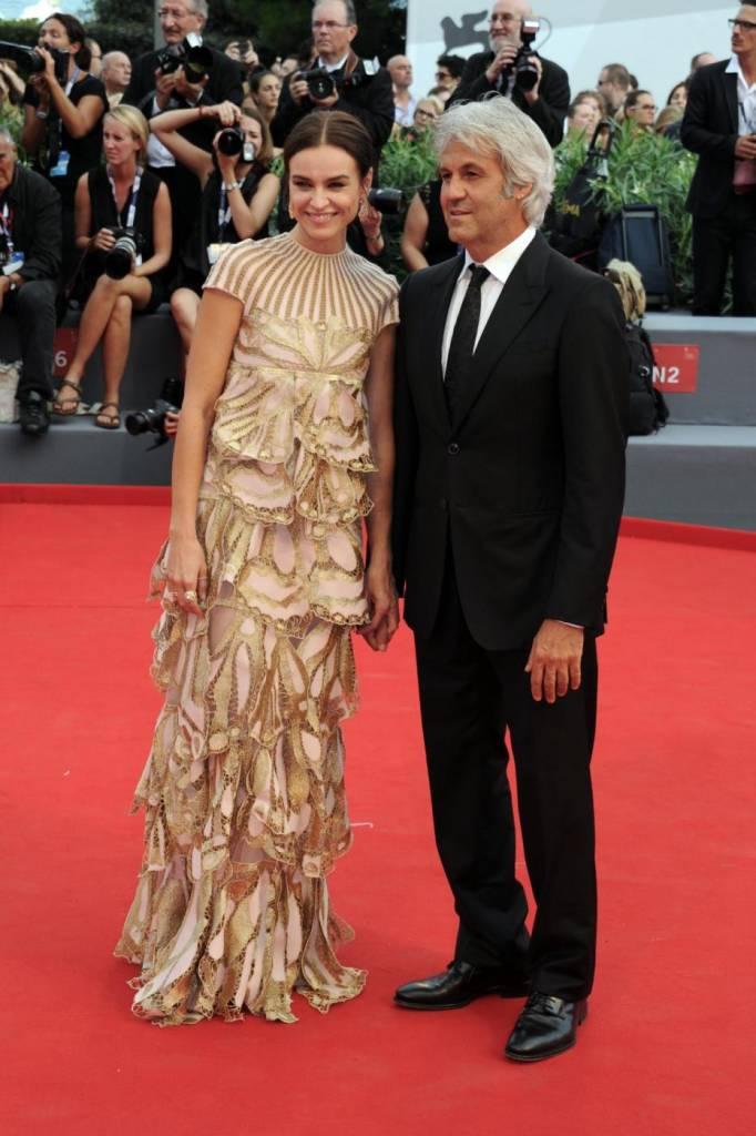 Kasia Smutniak in Valentino alla Mostra del Cinema di Venezia FOTO