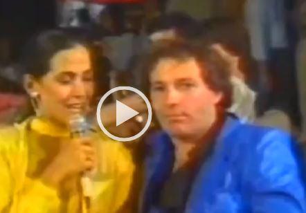 Barbara d'Urso-Vasco Rossi, complici in tv nel 1979 VIDEO