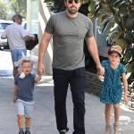Ben Affleck papà triste e solo, compra gelato ai figli7