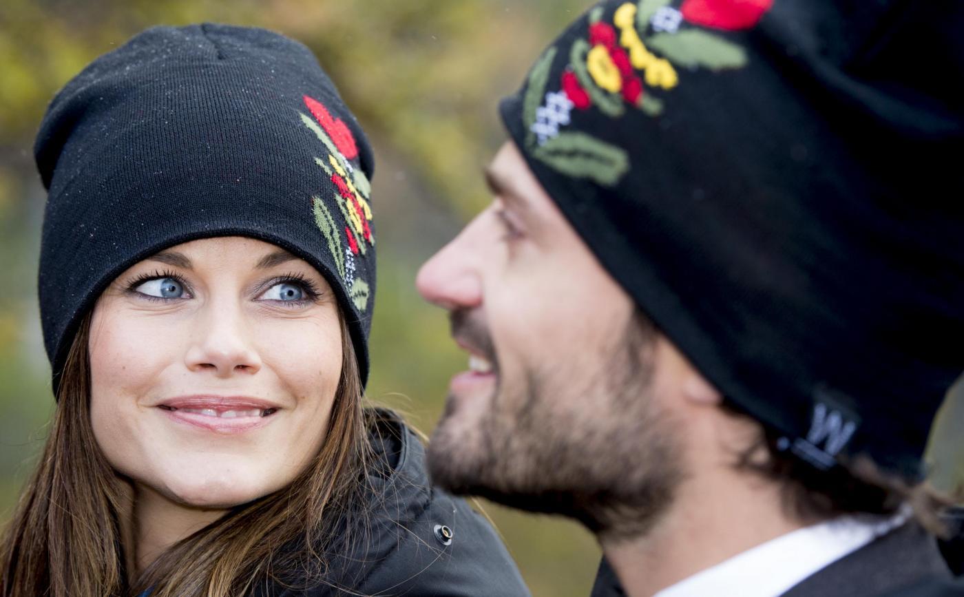 Sofia di Svezia copia il look premaman di Meghan Markle