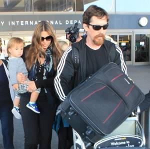 Christian Bale, dal red carpet alla tuta sportiva