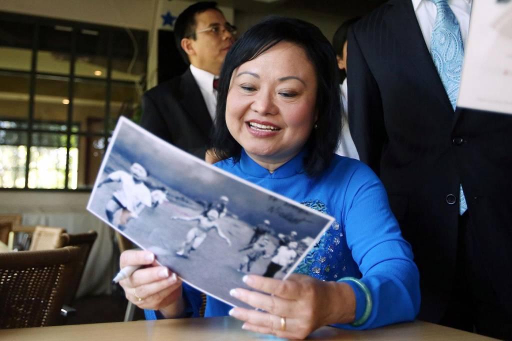 """Kim, bambina bruciata da Napalm in Vietnam: """"Sogno guarigione"""""""