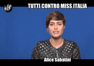 La rivincita di Alice Sabatini a Le Iene VIDEO