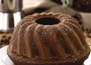 Ricette di dolci: ciambellone al caffè