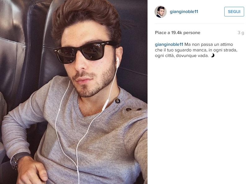 Il Volo, Gianluca Ginoble: dedica alla fidanzata su Instagram?