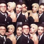 Il Volo: Gianluca Ginoble, Piero Barone con Lady Gaga FOTO