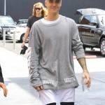 Justin Bieber e James Corden insieme a Los Angeles FOTO qw