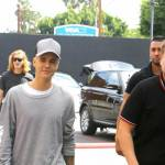 Justin Bieber e James Corden insieme a Los Angeles FOTO 9
