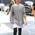 Justin Bieber e James Corden insieme a Los Angeles FOTO gh