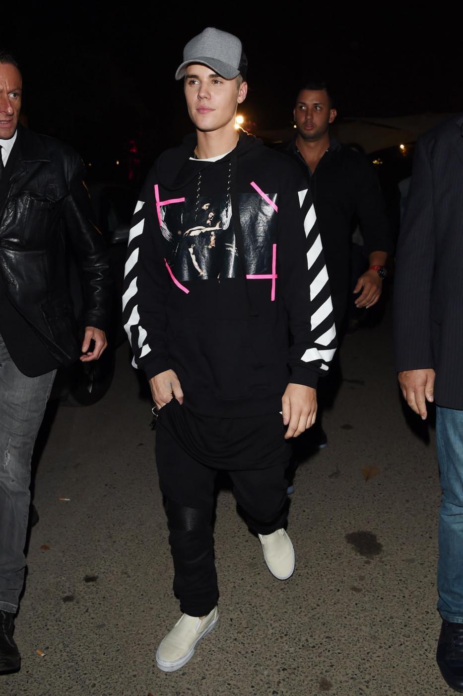 Justin Bieber a Milano per gli MTV Europe Music Awards FOTO 1