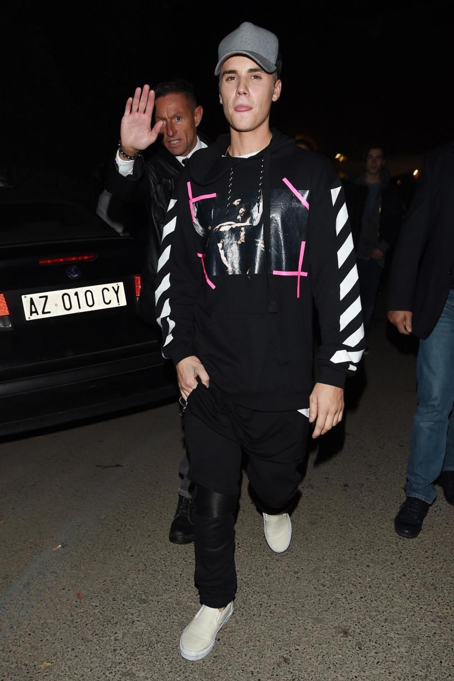 Justin Bieber a Milano per gli MTV Europe Music Awards FOTO 7