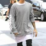 Justin Bieber e James Corden insieme a Los Angeles FOTO poo
