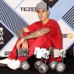 Justin Bieber a Milano per gli MTV Europe Music Awards FOTO 123
