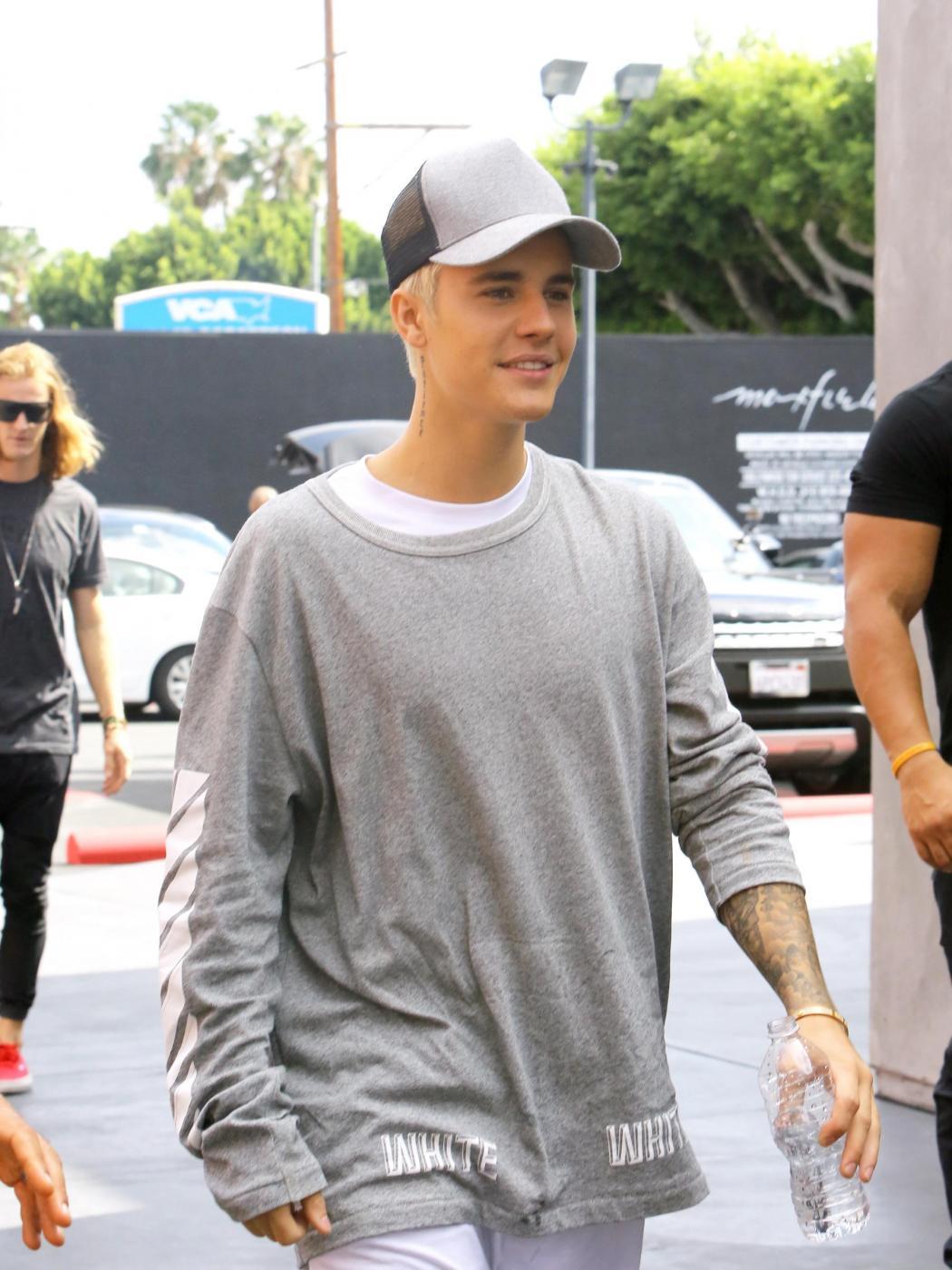 Justin Bieber e James Corden insieme a Los Angeles FOTO 124