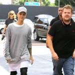 Justin Bieber e James Corden insieme a Los Angeles FOTO