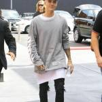 Justin Bieber e James Corden insieme a Los Angeles FOTO 7