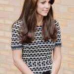 Kate Middleton, abito firmato Tory Burch a Londra FOTO RT