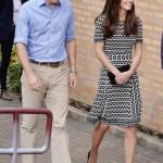 Kate Middleton, abito firmato Tory Burch a Londra FOTO 124