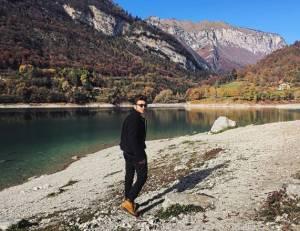 Gianluca Ginoble (Il Volo) in Trentino Alto Adige FOTO