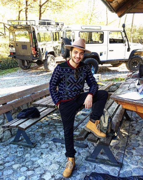 Gianluca Ginoble (Il Volo) in Trentino Alto Adige FOTO 1