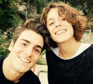 Martina Stoessel (Violetta), selfie con Pasquale Di Nuzzo FOTO