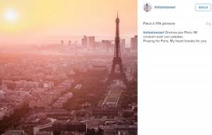 Martina Stoessel (Violetta) ricorda vittime di Parigi FOTO