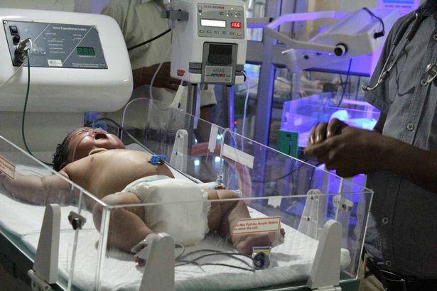 India, neonato record da 6,5 chilogrammi2