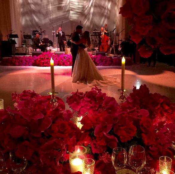 Sofia Vergara e Joe Manganiello sposi: 700 invitati, cascata di fiori6