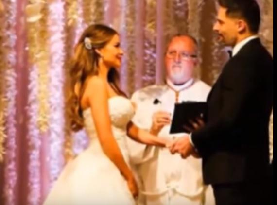 Sofia Vergara e Joe Manganiello sposi: 700 invitati, cascata di fiori2