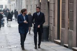 Fabio Borriello, shopping con l'amico stilista8