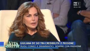 Giuliana De Sio contro Cristina Parodi: scontro epico in tv