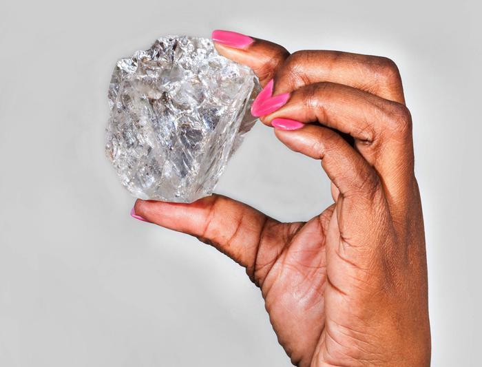 World's second-biggest gem quality diamond
