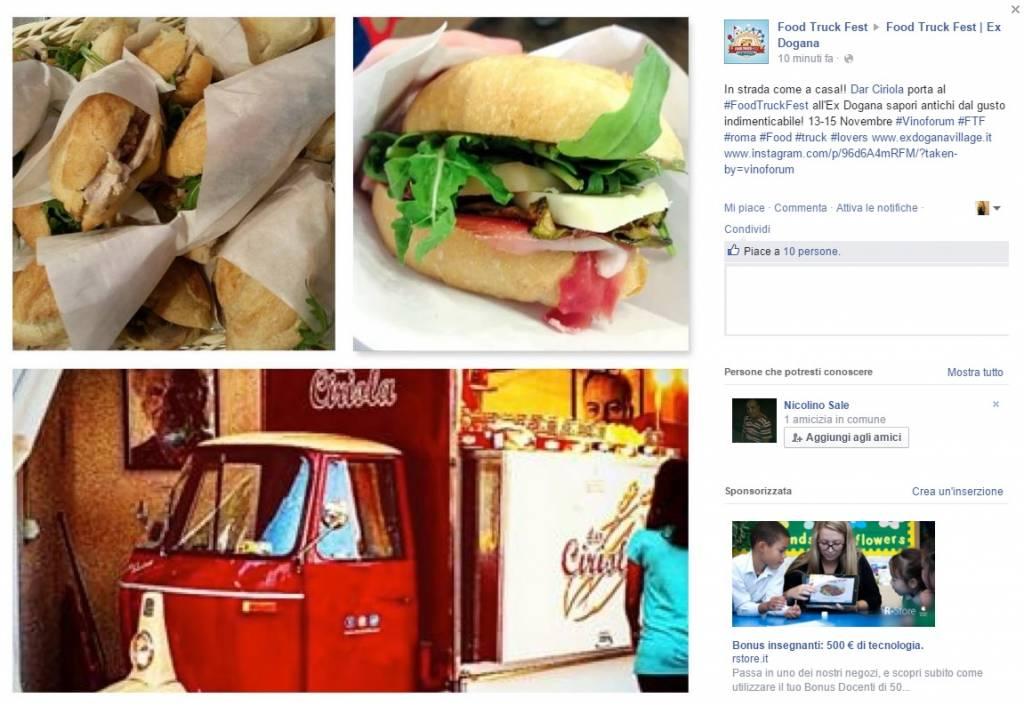 Food Truck Fest all'Ex Dogana dal 13 al 15 novembre a Roma
