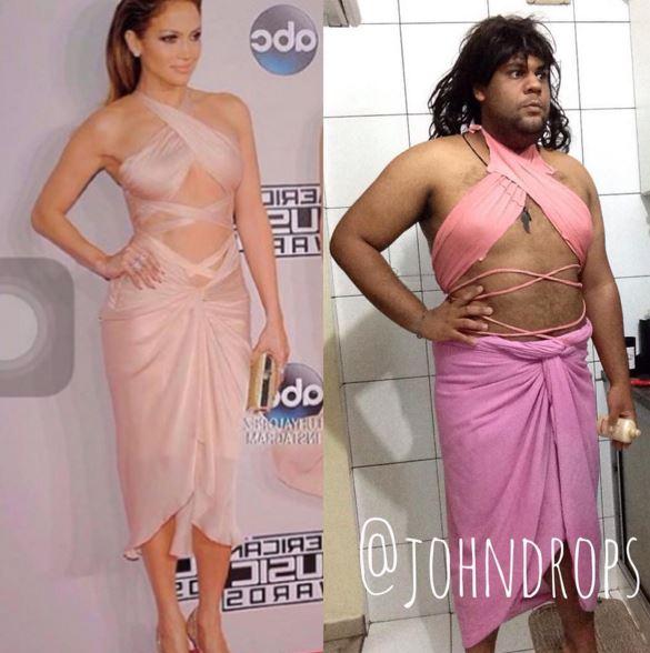 Da Kim Kardashian a Rihanna: look parodia del blogger Joao Paulo FOTO