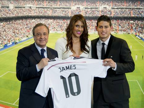 James Rodriguez: chi è Daniela Ospina, moglie del calciatore