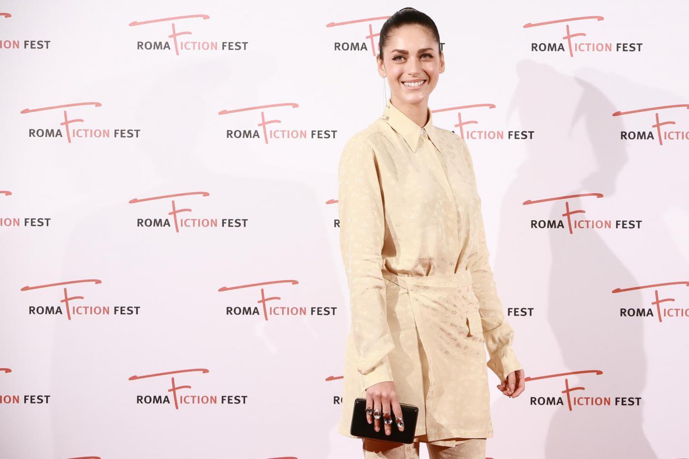 Miriam Leone, look castigato al Roma Fiction Fest FOTO 1