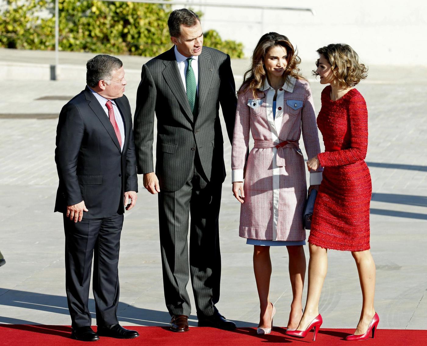 Letizia Ortiz-Rania di Giordania: sfida di eleganza FOTO