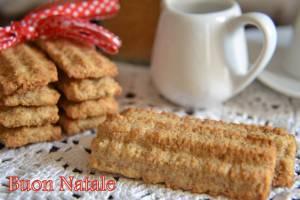 Speciale Natale: Biscotti rustici integrali