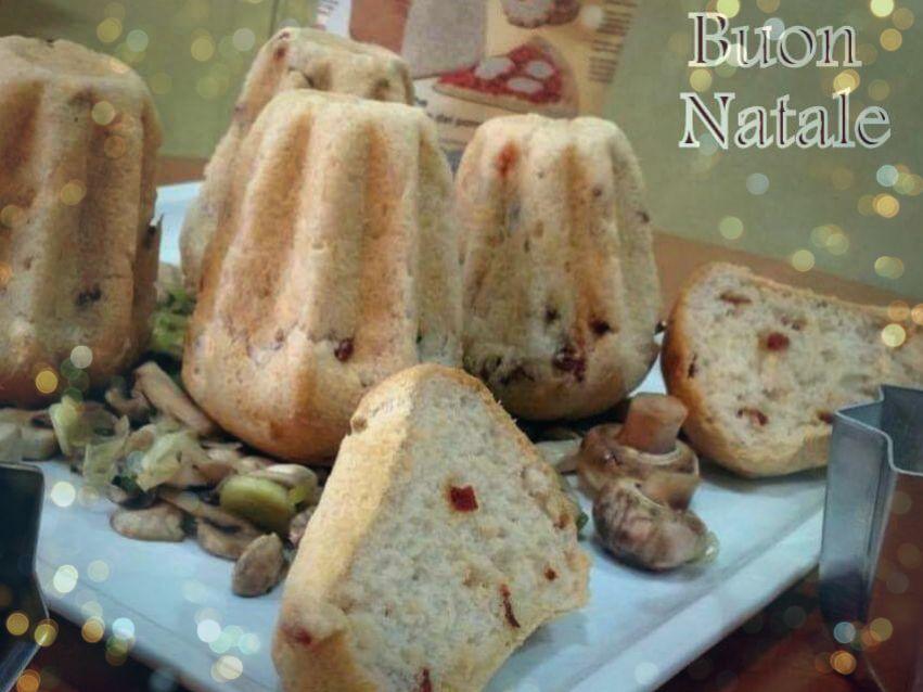 Speciale Natale: Pandorini ai pomodori senza glutine