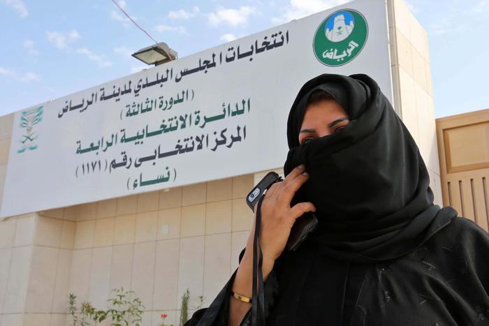 Arabia Saudita, donne elette nei consigli comunali1