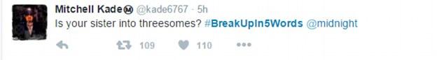 BreakupIn5Words, l'hastag per scaricare il partner in 5 parole7